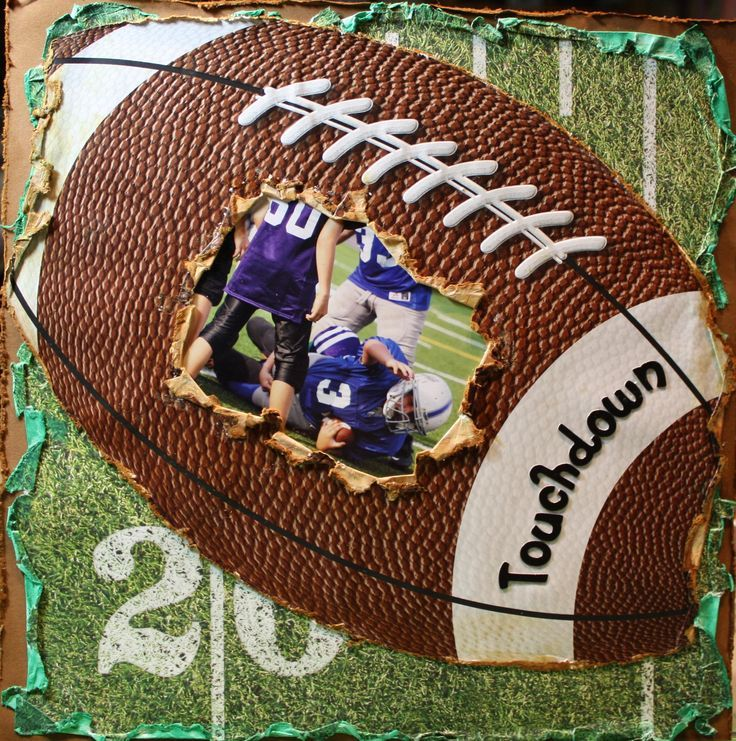 Sports Scrapbook Page Scrapbooking Sports 12x12 Page