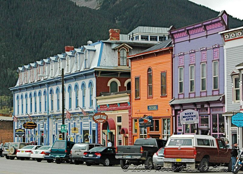 Silverton Colorado We Stayed In The Grand Imperial Hotel All
