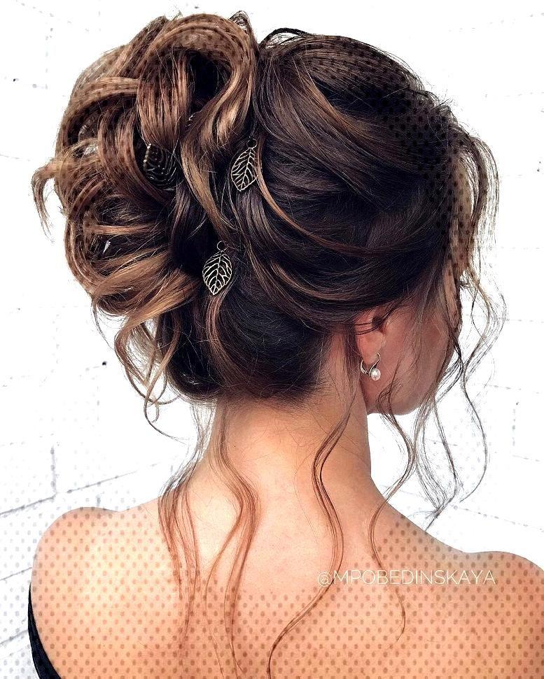 Coiffures de mariage magnifiques pour la mariée élégante   - wedding hair Coiffures de mariage m