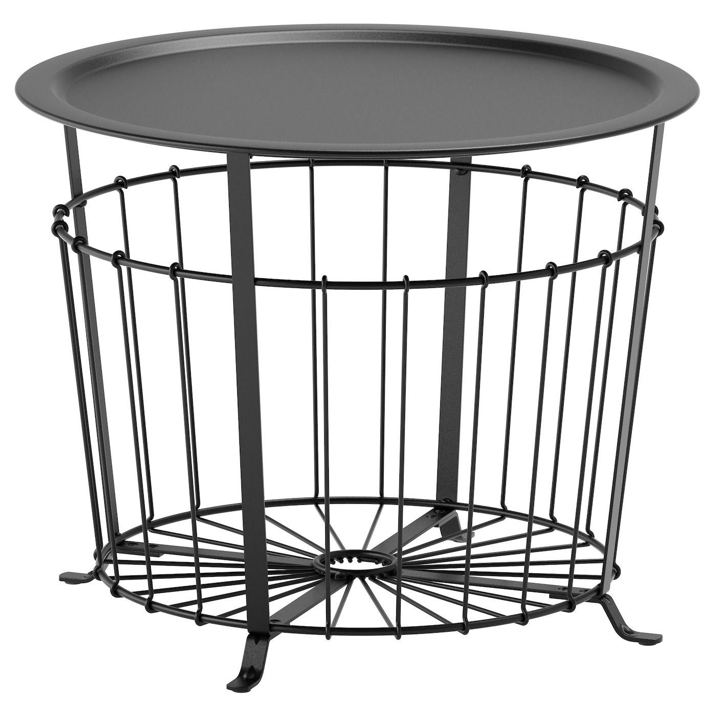 Gualov Storage Table Black 23 5 8 Table Storage Living Room Table Ikea [ 1400 x 1400 Pixel ]