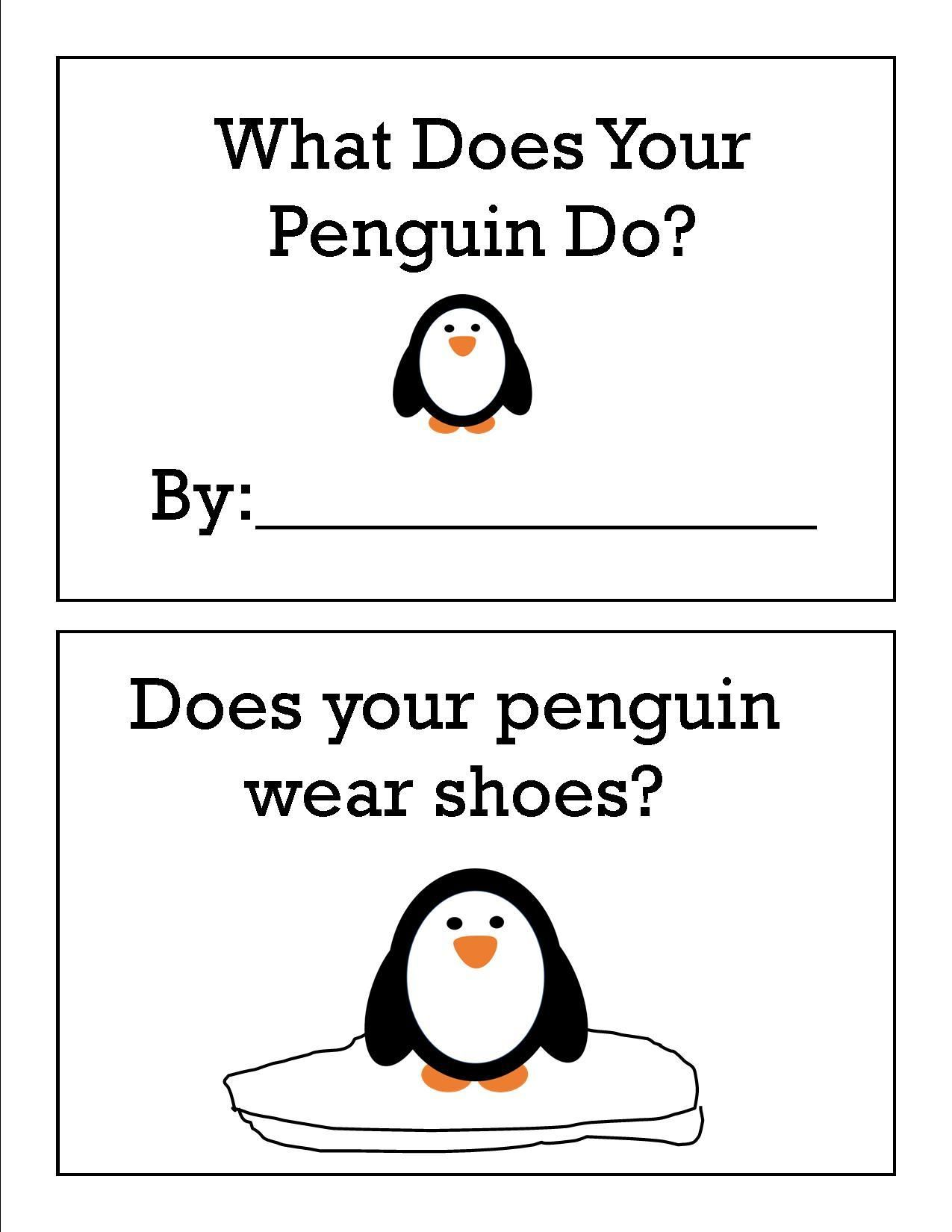 Preschool Penguin Activities