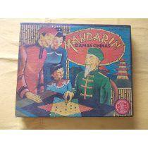 Antiguo Juego Mandarin Damas Chinas Juegos Atlas Ind Arg
