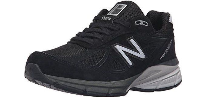 New Balance Women's W990V4 Running Shoes for wide toe box