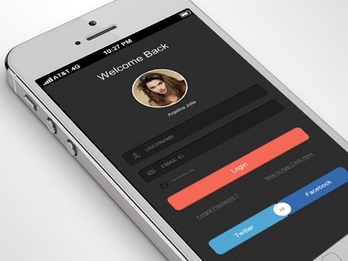 Mobile app ui concept flat modern ui pinterest mobile app the most beautiful modern mobile app ui design is right here user experience ux and the user interface ui both are create well design web and mobile app ccuart Gallery
