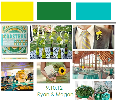 yellow+teal+green+wedding | Teal, Green and yellow. : wedding ...
