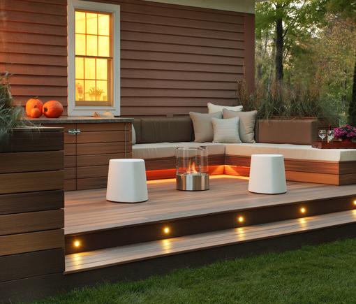 Small Garden Ideas Decking 15 must-see deck lighting ideas | stair lighting, natural light