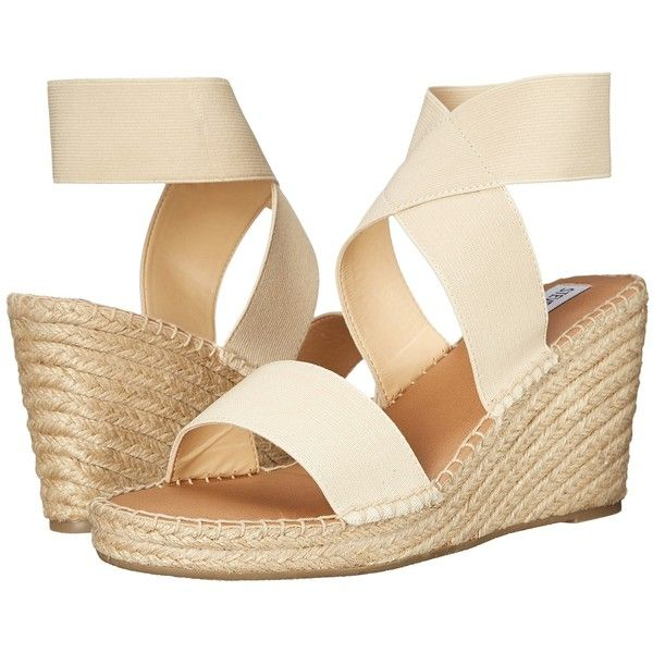 Steve Madden Eldora Women's Sandals, Beige ($40) ❤ liked on Polyvore  featuring shoes