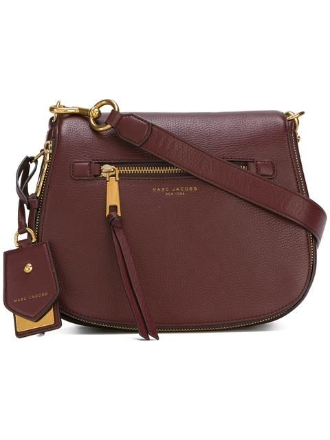 MARC JACOBS Small Recruit Nomad Satchel Bag. #marcjacobs #bags #shoulder bags #hand bags #leather #satchel #lining #
