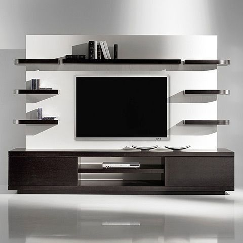 Chic And Modern Tv Wall Mount Ideas For Living Room Contemporary Tv Units Living Room Tv Wall Living Room Tv