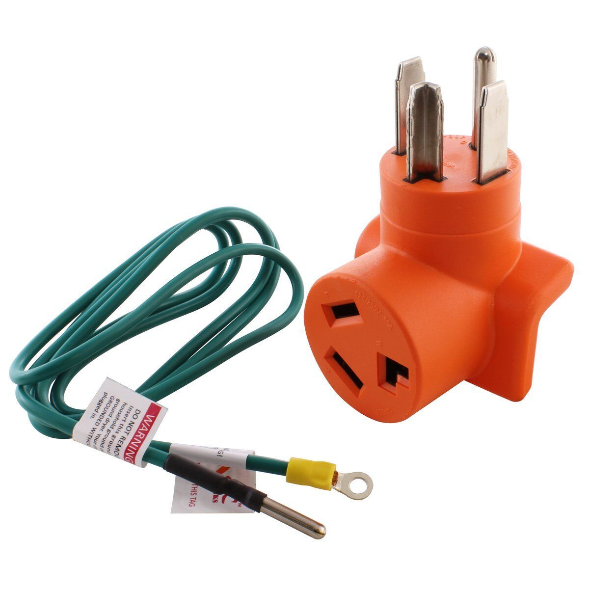 Ac Works Ad14301030 4 Prong New Dryer Plug To 3 Prong Old Dryer Socket Adapter Outlet Adapter Dryer Plug Dryer Outlet