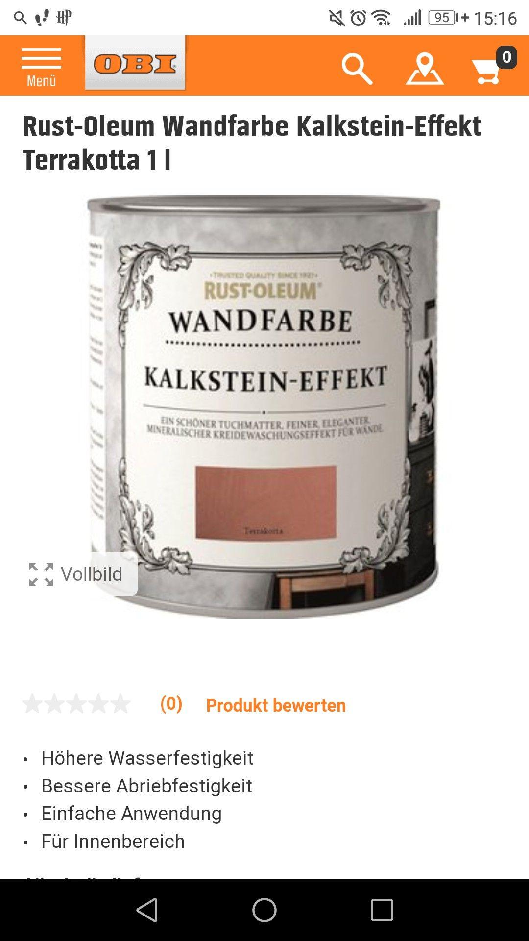 Terrakotta Wandfarbe Obi Matt Wandfarbe Terrakotta Farben