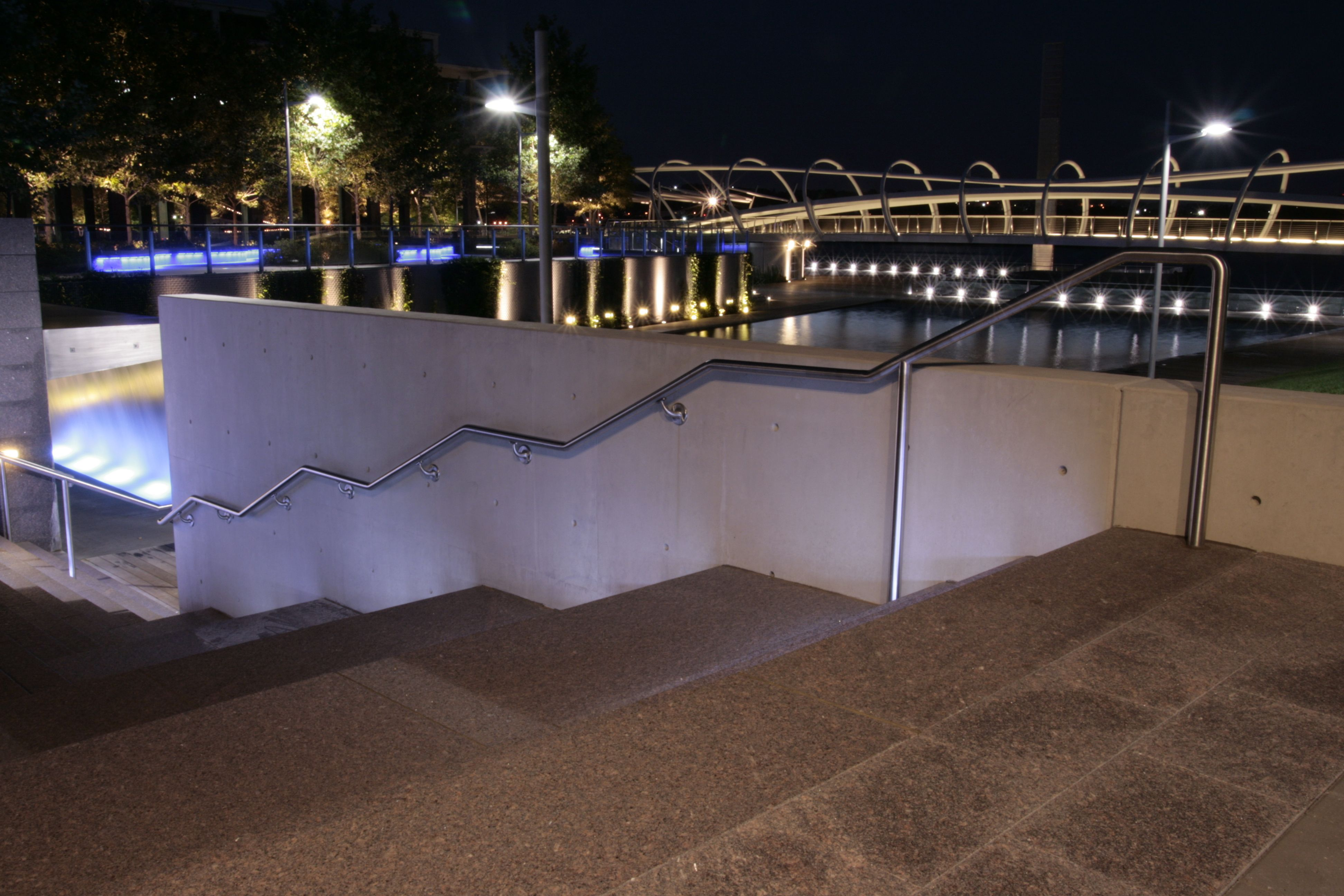 Lighting Basement Washroom Stairs: Pin By The Wagner Companies On Lumenrail Lighted Railing