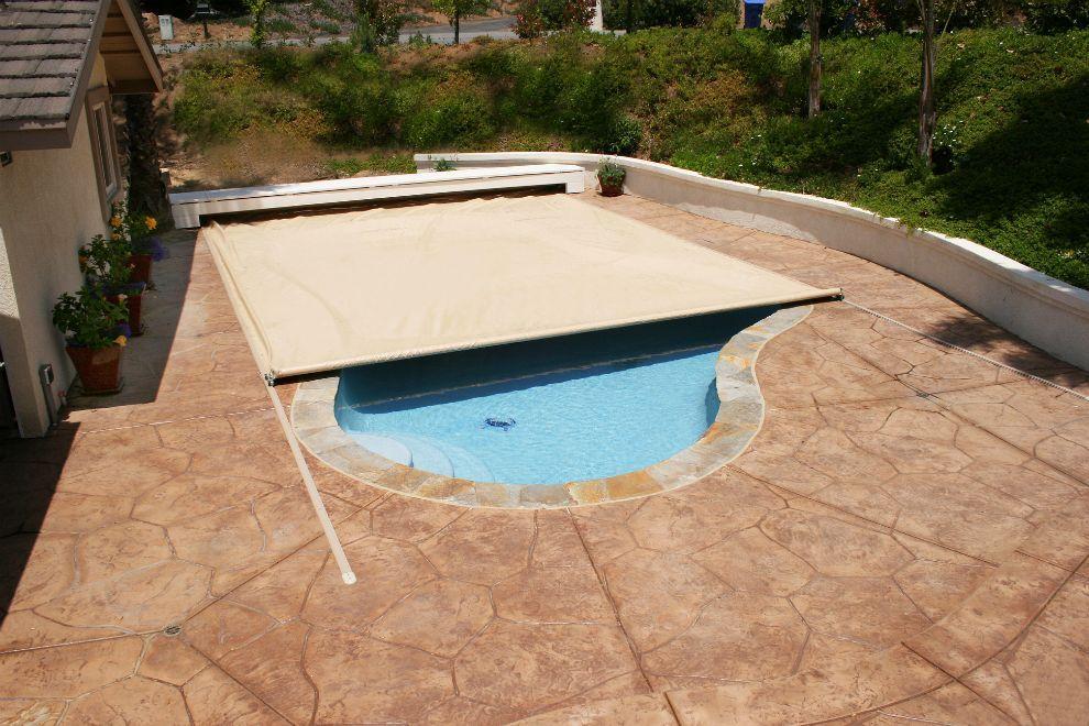 Coverstar arizona automatic pool cover pool patio