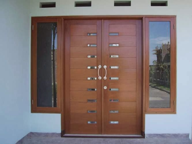 Desain Pintu Rumah Minimalis Modern Minimalist Design