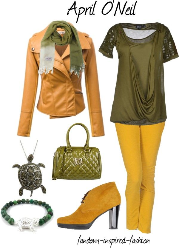 Fandom Inspired Fashion April Oneil Inspired Outfit Based On The