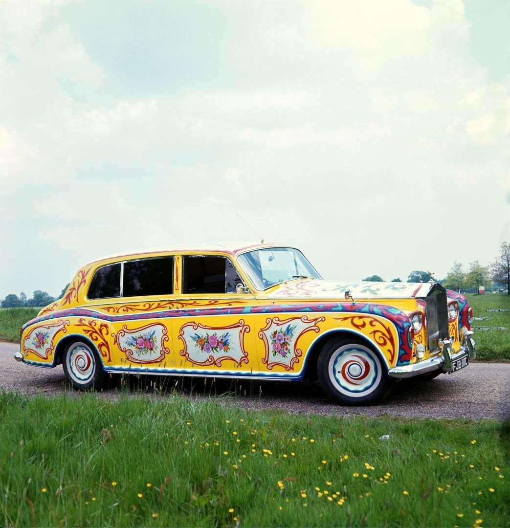 john lennon phantom v rolls royce bill zygmant rex features cars pinterest cars. Black Bedroom Furniture Sets. Home Design Ideas