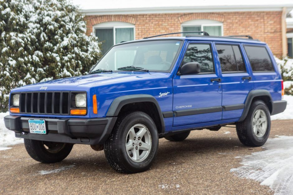 No Reserve 40kMile 1997 Jeep Cherokee Sport in 2020