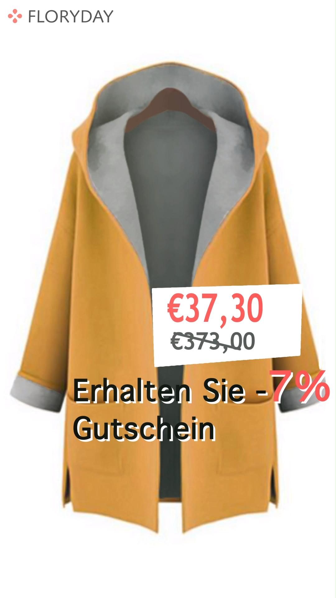 Photo of Lange Ärmel Mit Kapuze Taschen Trenchcoats