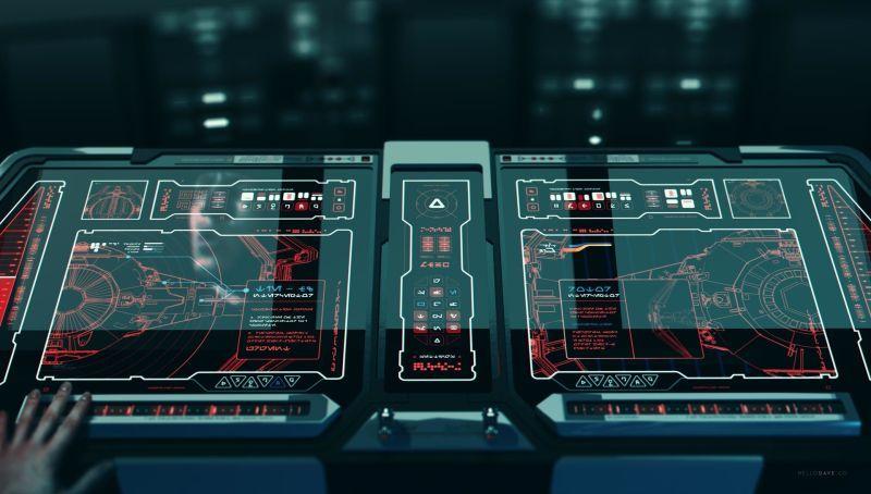 Giving A TIE Fighter A Firmware Update Futuristic