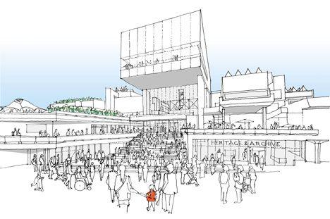 Feilden Clegg Bradley to build glass extension on Southbank Centre