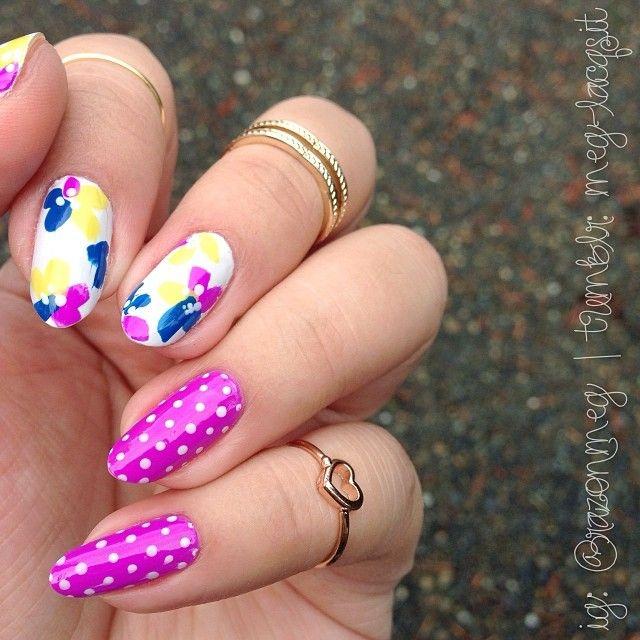 Nail Art Dan Extension Kuku: Instagram Photo By Razonmeg #nail #nails #nailart