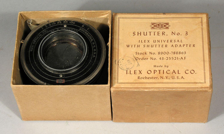 Ilex Optical Co Rochester Ny Ilex No 3 Shutter C 1930
