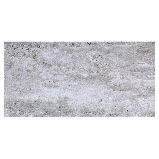 rona Tuiles de porcelaine, mur/plancher, gris/blanc, 8/boite 28 ...