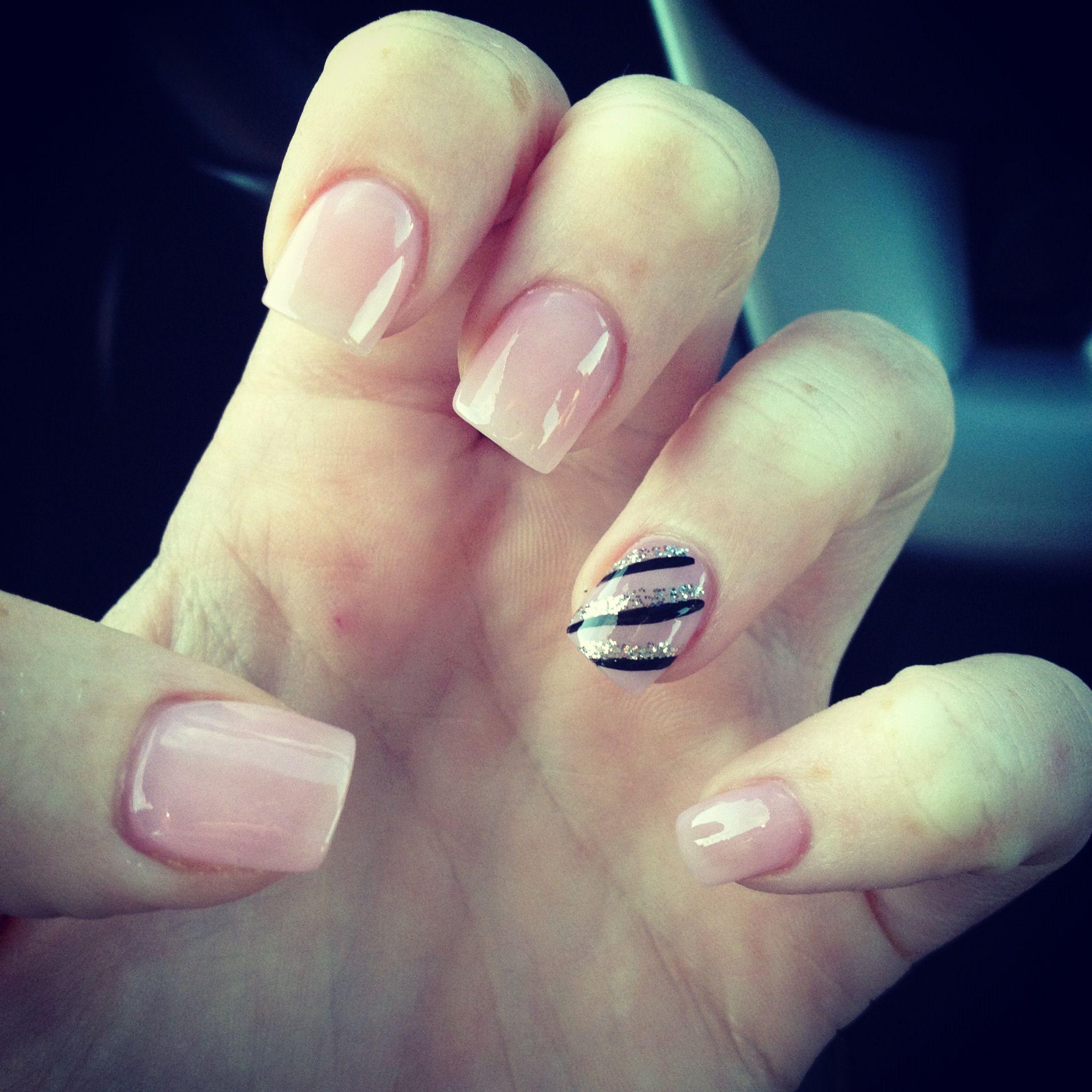 Light pink nails     Nail Looks     Pinterest