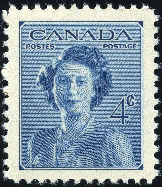 King George VI Canada 1948