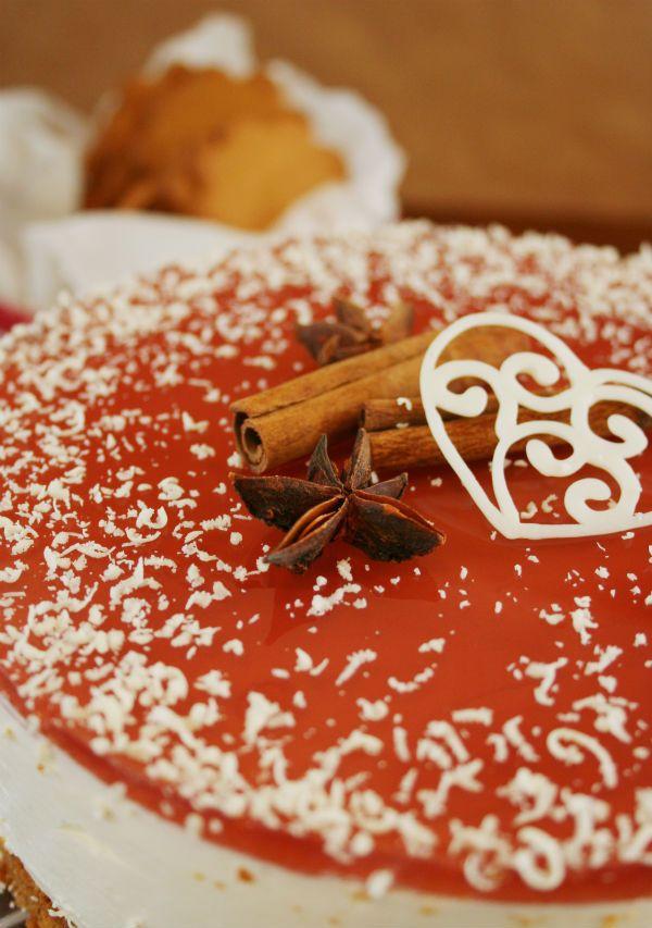 Glögi cake/pie (Finnish)