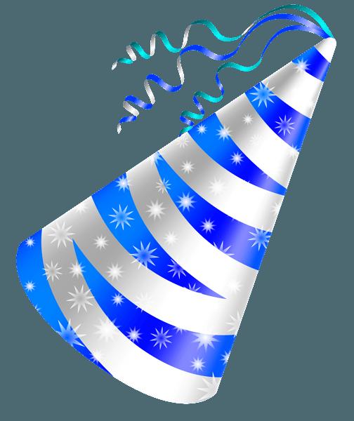 Blue Party Hat Clip Art Copos De Nieve Mujer Maravilla Cumpleanos