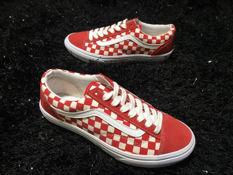 35475178aa Vans Old Skool Style 36 VN-0XI0DI8 Red White Skate Shoes For Sale  Vans