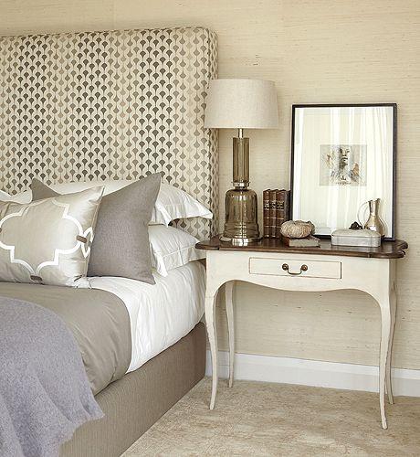 Bedrooms Sand Grasscloth Wallpaper Gray Silk Tall