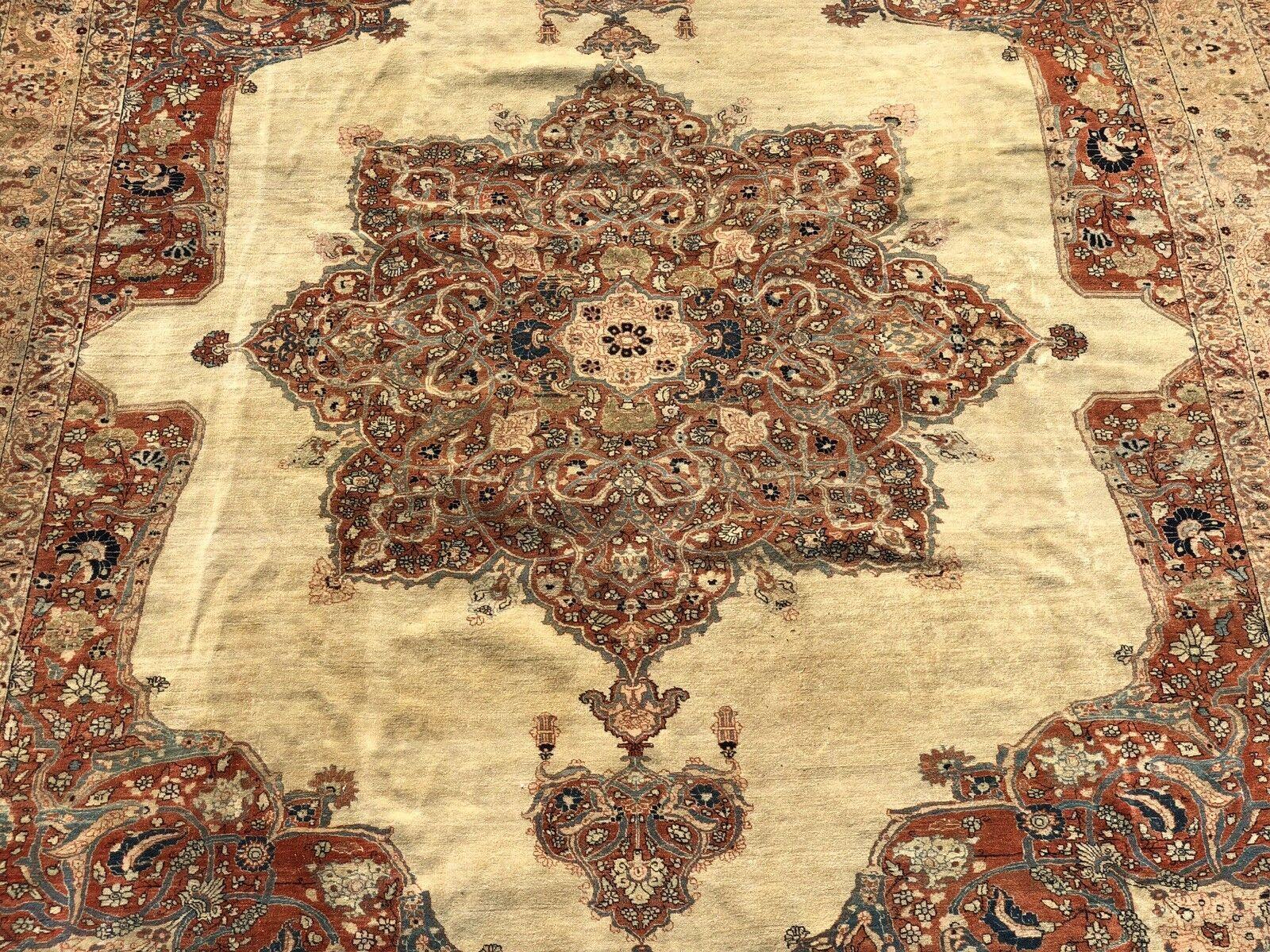 Auth 19th C Persian Collectors Masterpiece Rare Hadji Jalili Tabrize 10x12 Nr Ebay Rugs On Carpet Persian