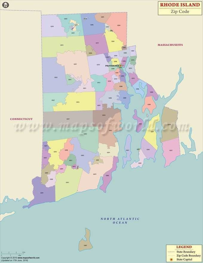 rhode island zip code map rhode island postal code travel