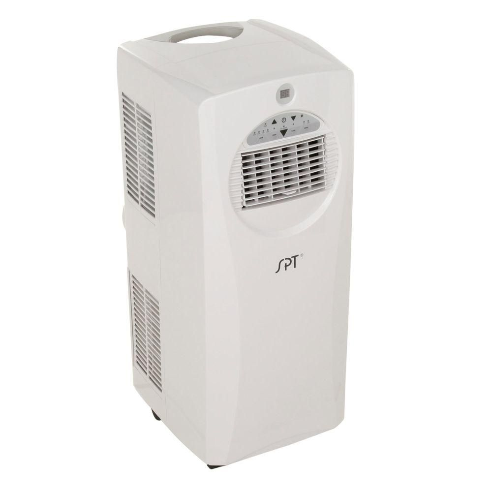 Spt 9 000 Btu Portable Air Conditioner With Heat And Dehumidifier Wa 9061h Air Conditioner With Heater Dehumidifiers