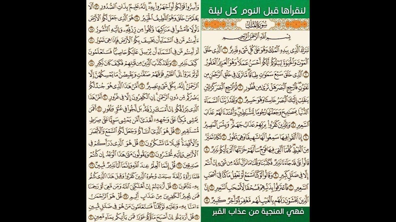 تفسير القرآن الكريم سورة الملك الملخص تفسير د أسامه أحمد Youtube Event