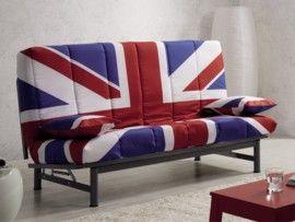 Sofá cama British   Sofas baratos, Sofá cama, Camas