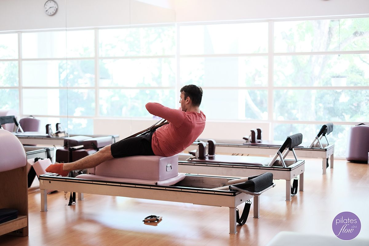 Classical Pilates movement of the day Horseback 2 on the