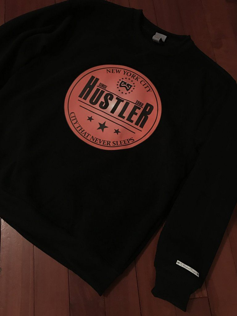 New York huslter city that never sleep sweater