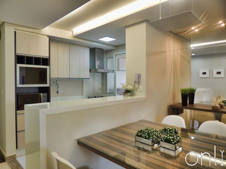 Cozinha Com Sala De Jantar Grande ~ sala de jantar e cozinha cozinha aberta cozinhas integradas pesquisa