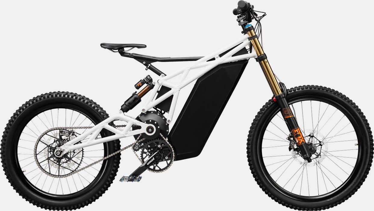 Powerful Neematic 50 Mph Fr 1 E Bike Blends Lines Between Bicycle Moped Eletric Bike Electric Dirt Bike Electric Mountain Bike
