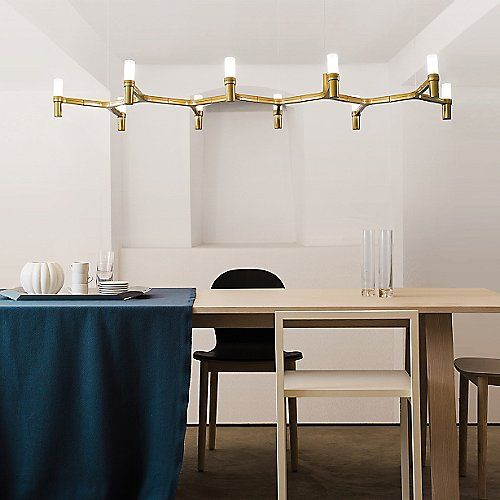 DINING ROOM LIGHT FIXTURE Crown Plana Linea Suspension By Nemo At Lumens