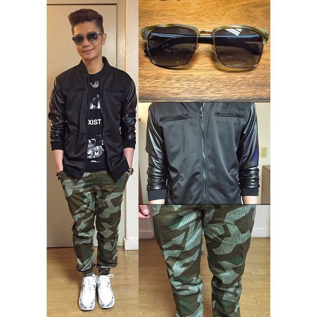 Thank You Magnooptical For My Shades Outkastparadigm For My Jacket And Jogger Pants