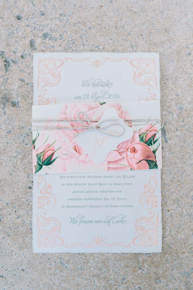 L´Amour Hochzeitseinaldung Bild Schwede Design wedding