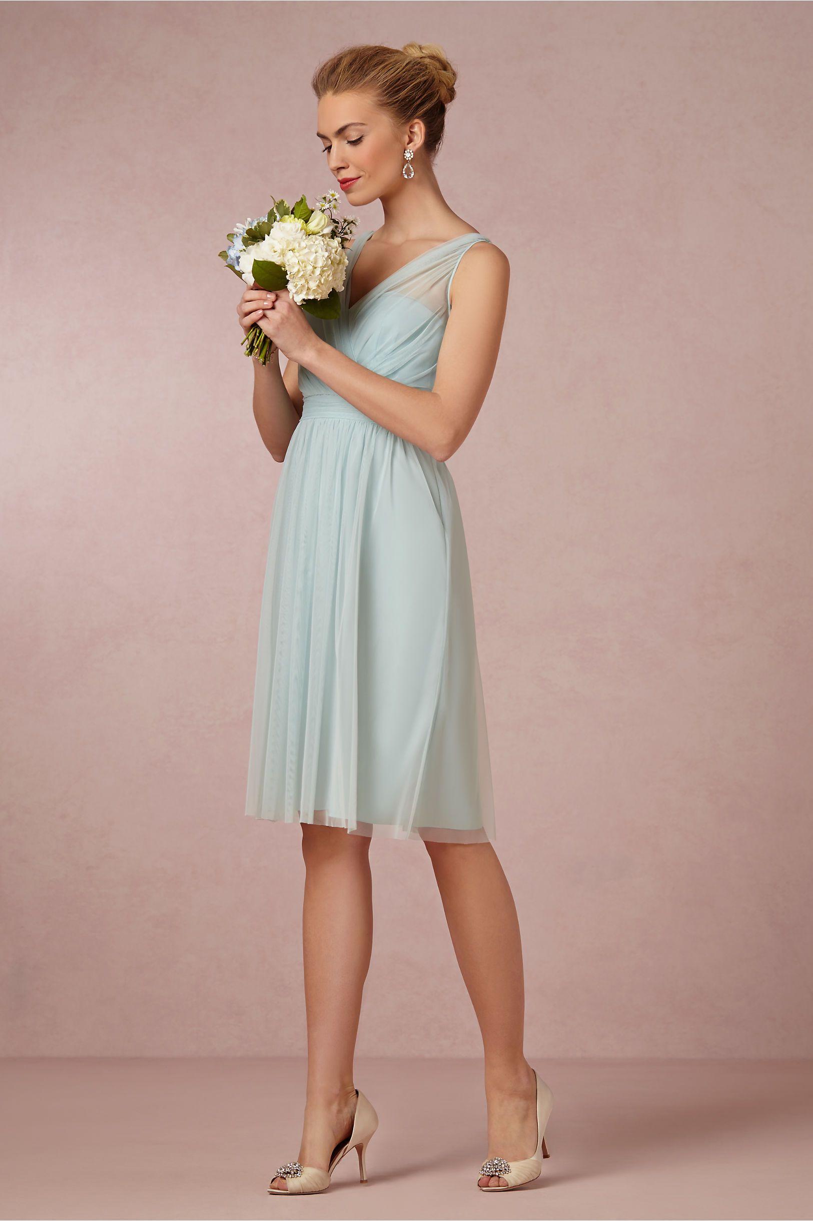 Peach dress for wedding guest  Tansy Dress from BHLDN  flowerscolor palette  Pinterest  Bhldn