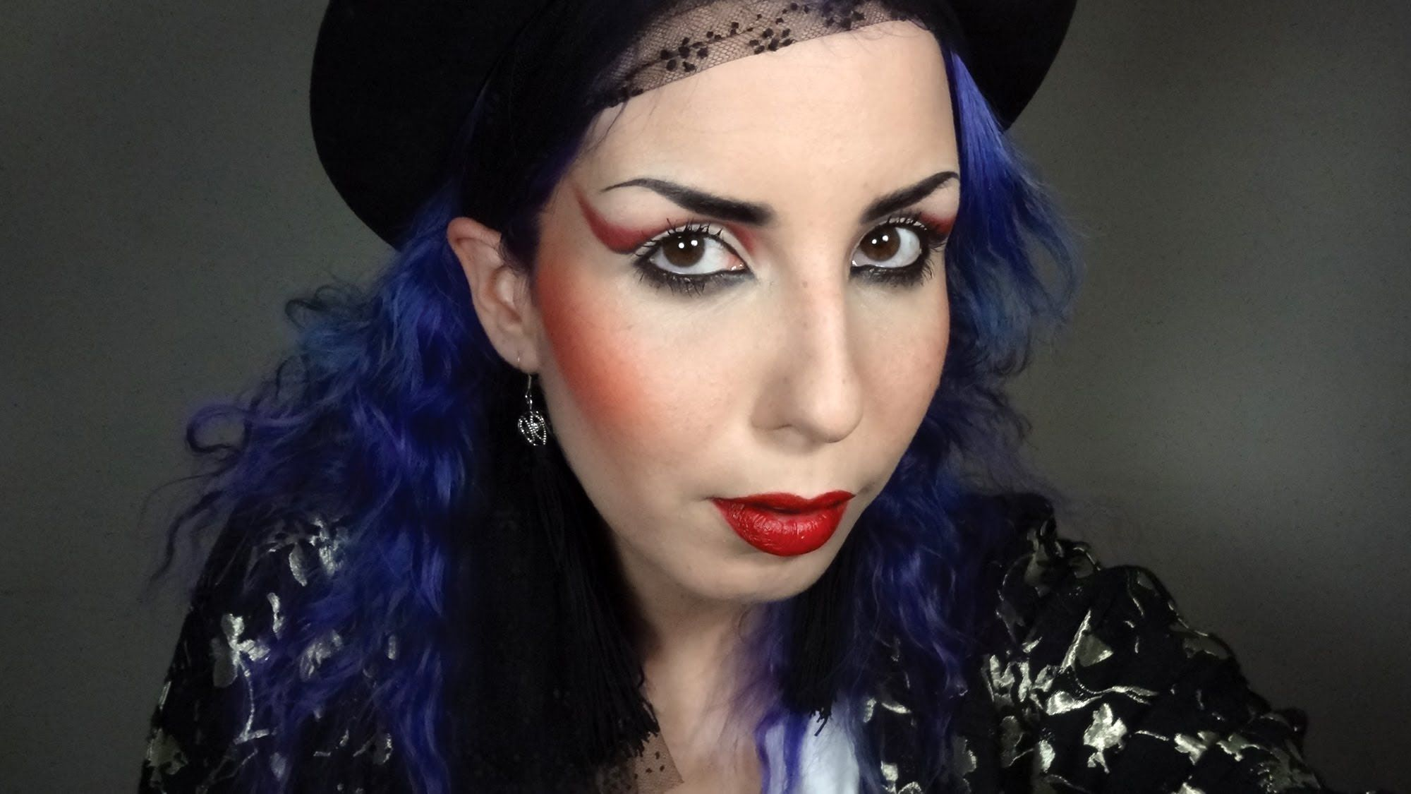 80 S Boy George Makeup Tutorial With Images Purple Makeup