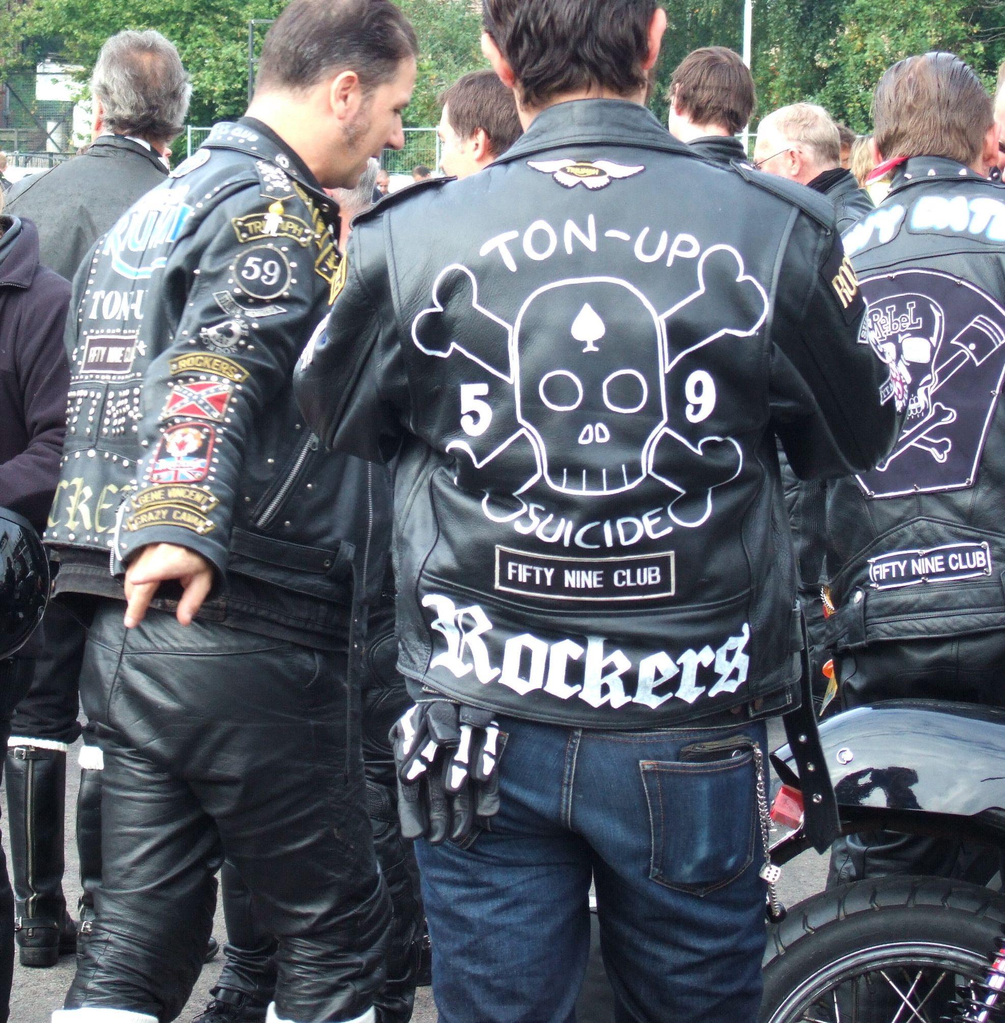 Ton Up Boys Brighton Rockers Rocker Leather Motorcycle Jacket Off Your Rocker [ 2011 x 1975 Pixel ]