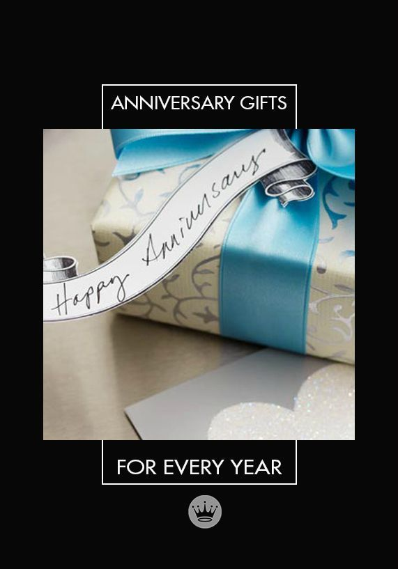 hallmark traditional anniversary gifts by year