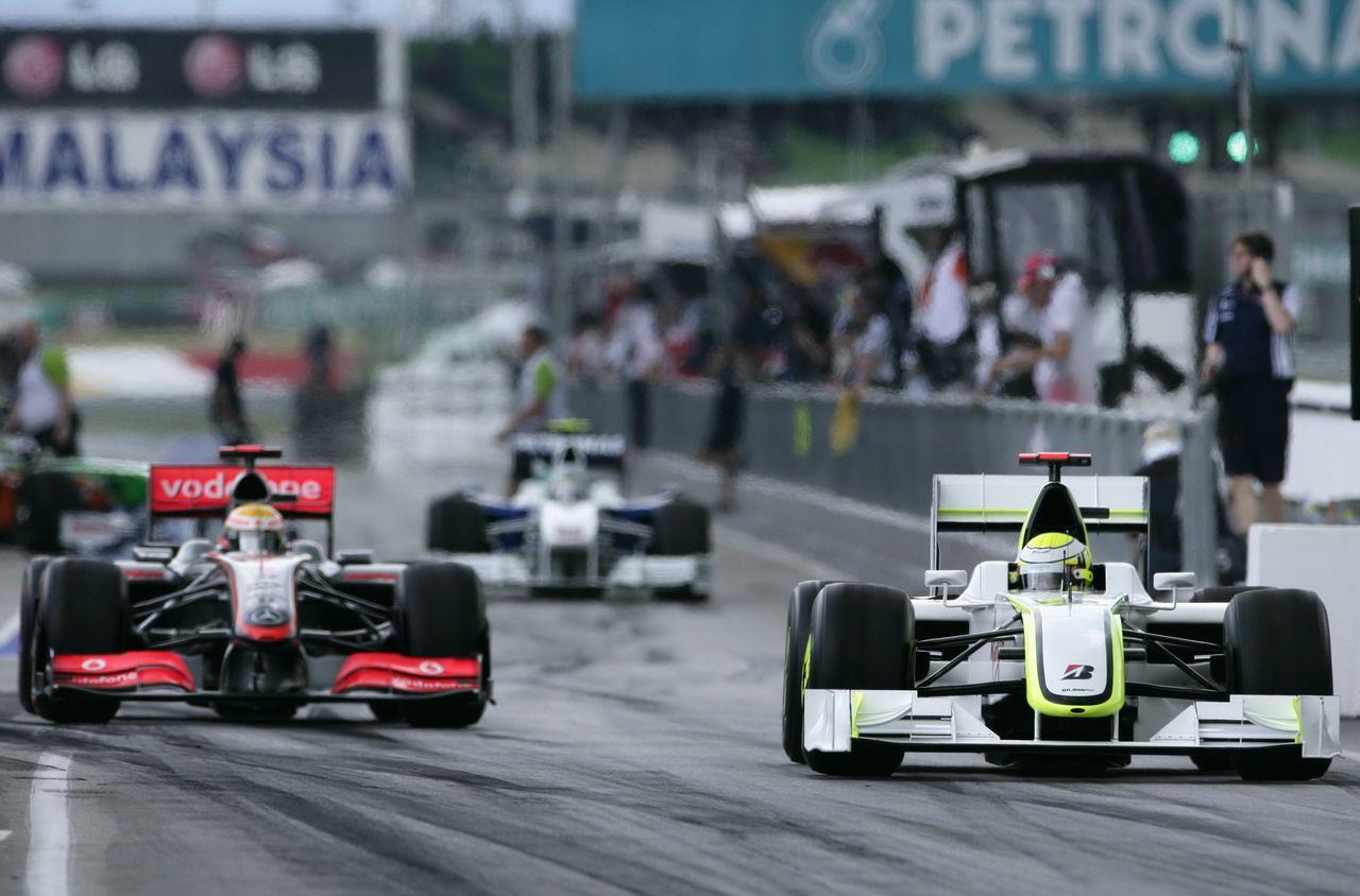Mclaren Mercedes Along With Jenson Buttons Brawn Mercedes.